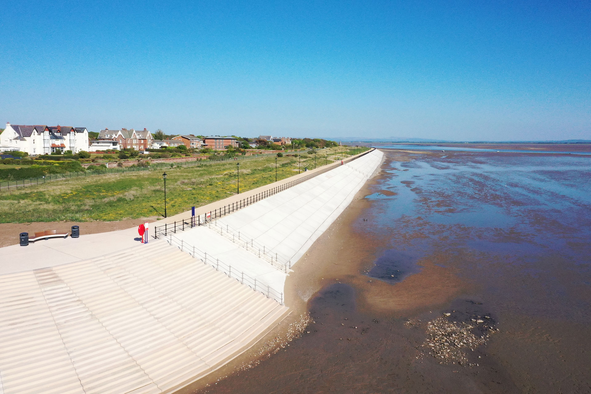 Fairhaven to Church Scar Coastal Defence Completed Moore Concrete